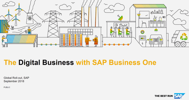 Go Digital Business with SAP Business One