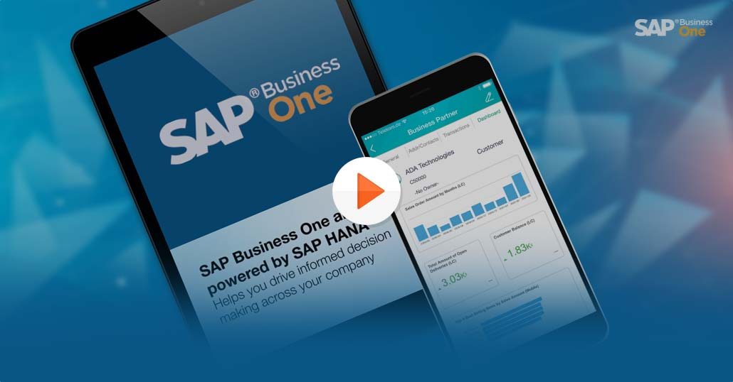 SAP Business One HANA Video