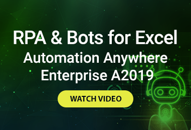 RPA & Bots for Excel