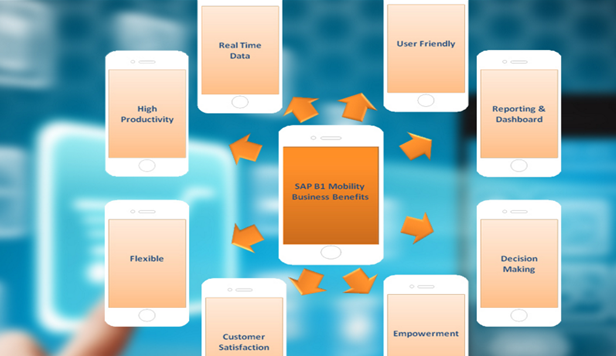 SAP B1 Mobility Diagram