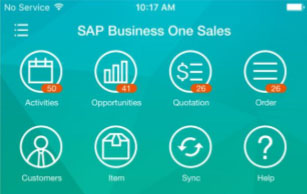 SAP Business One Sales App