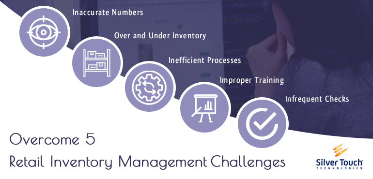 Overcome These 5 Retail Inventory Management Challenges with Silver Touch Technologies