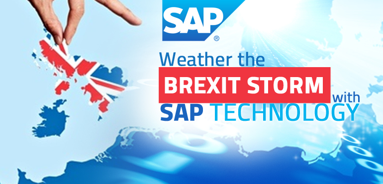 Back your Business with SAP Technology to Outrun the Brexit Storm