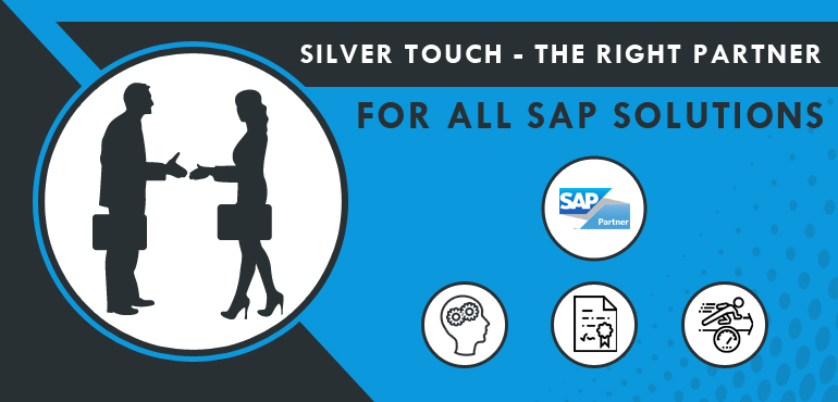 Silver Touch- The Right Partner for All SAP Business Solutions