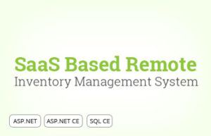 Saas Based Remote Inventory Mgmt. System