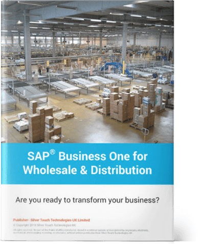 SAP Business One for <br> Wholesale & Distribution