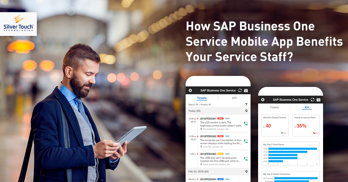 SAP Business One Service Mobile App