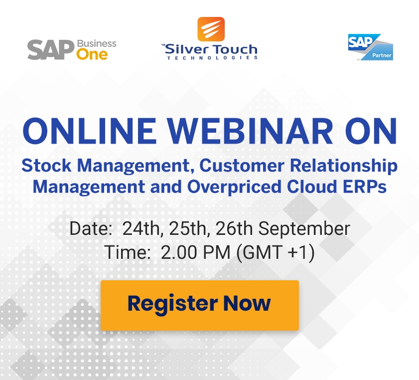 Stock Management, Customer Relationship Management and Overpriced Cloud ERP