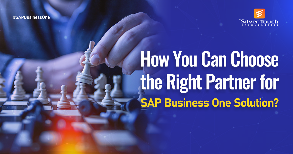 Choose the Right Partner for SAPB1